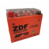 аккумулятор 12V12Ah Мото ZDF GEL Orange 1212.2 п/п YTX12-BS 150х87х130/180 EN