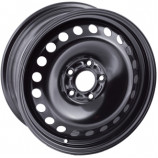 Диск штампованный 6.5x16 5x114.3 et45 d60.1 16012 AM Toyota Corolla Black Magnetto
