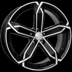 Диск литой 6.0x15 5x108 et50 d63.3 X-fighter алмаз черный K&K
