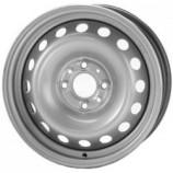 Диск штампованный 5.5x14 4x100 et36 d60.1 53A36C (PCR14554100T) Renault Megane Scenic Clio Symbol Silver Eurodisk