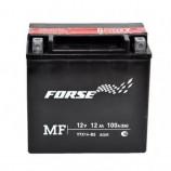 Аккумулятор 12V12Ah Мото FORSE MF YTX14-BS