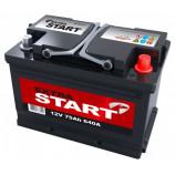 аккумулятор 75 Extra start +Dе