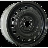 Диск штампованный 5.5x14 4x100 et35 d57.1 53A35D ED (9304636) Black Eurodisk