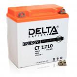 Аккумулятор 12V10Ah Мото Delta CT 1210 п/п (YB9A-A.YB9-B. 12N9-4B-1)