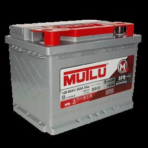 аккумулятор 60 MUTLU SFB п/п L2.60.054.B