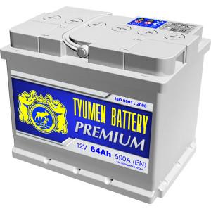 аккумулятор 64 TYUMEN BATTERY Premium п/п