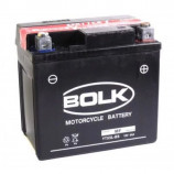 аккумулятор 12V4Ah Мото BOLK Super 504012-YTX5L-BS сух 114х71х106/30 EN