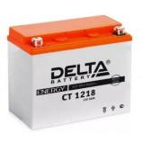 Аккумулятор 12V18Ah Мото Delta AGM CT 1218 п/п JIS YTX20-BS, YTX20H, YB16-B-CX, YB16-B, YB18-A 177х88х154/270 EN