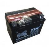 аккумулятор 12V4Ah Мото ZDF MF Black 1204.1 о/п YTX4L-BS 114х71х86/50 EN