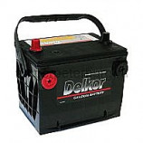 аккумулятор 55 Delkor 75DT-650 бок.амер.клеммы и верхн.кл.