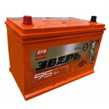 Аккумулятор ЗВЕРЬ EFB Asia 6СТ-95.1 LЗУ (125D31R)