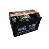 аккумулятор 12V9Ah Мото ZDF MF Black 1209.1 п/п YTX9-BS 152х88х106/90 EN