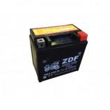 аккумулятор 12V7Ah Мото ZDF VRLA Black 1207 о/п YTZ7S 113х70х105/130 EN