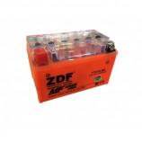 аккумулятор 12V7Ah Мото ZDF GEL Orange 1207 п/п YTX7A-BS 151х88х94/90 EN