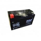 аккумулятор 12V8Ah Мото ZDF VRLA Black 1208 п/п YT7B-4 150х66х94/120 EN
