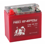 Аккумулятор 12V10Ah Мото Red Energy DS 12-10 п/п (YB9A-A, YB9-B, 12N9-4B-1) 137x77x135/110 EN