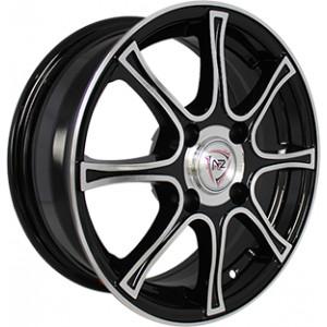 Диск литой 5.5x14 4x108 et24 d65.1 SH607 BKF NZ Wheels