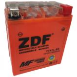 12V7Ah Мото ZDF GEL Orange 1207.3 о/п YTX7L-BS 113х70х123/85EN