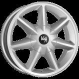 Диск литой 6.0x15 4x98 et35 d58.6 Калина2 КС580  сильвер K&K