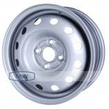 Диск штампованный 5.5x14 4x100 et49 d56.5 14013 S AM Daewoo Nexia Chevrolet Lanos Silver Magnetto