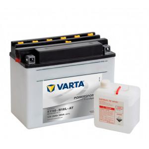 аккумулятор 12V20Ah Мото VARTA FP 520 016 020 A514 206x61x164/260 EN