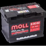 аккумулятор 60 MOLL M3 PLUS K2 R
