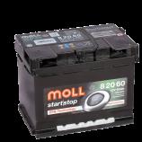 аккумулятор 60 MOLL EFB R