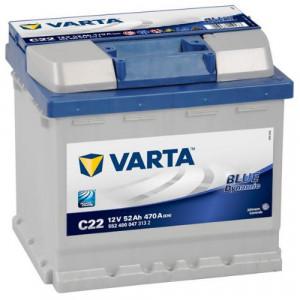 аккумулятор 52 VARTA Blue dinamic 552 400 047 о/п