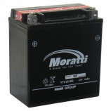 аккумулятор 12V14 Ah Мото Moratti  с/зар. с/эл. (YTX 16 BS)