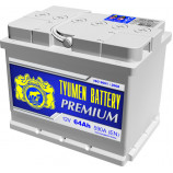 аккумулятор 64 TYUMEN BATTERY Premium о/п