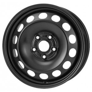 Диск штампованный 6.0x15 5x108 et52.5 d63.35 15000 AM Ford Focus II Black Magnetto