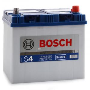 аккумулятор 60 BOSCH S4 560 410 054