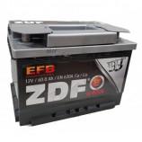 аккумулятор 60 ZDF EFB Technology о/п 242*175*175