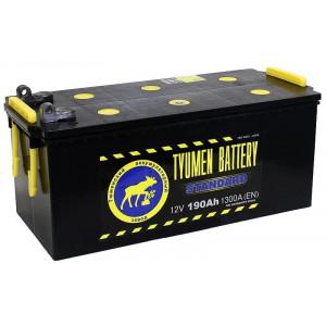 аккумулятор 190 TYUMEN BATTERY Standard п/п болт