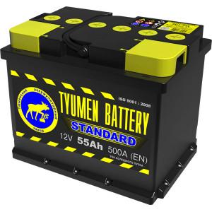 аккумулятор 55 TYUMEN BATTERY Standard о/п