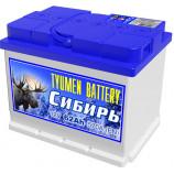 аккумулятор 62 TYUMEN BATTERY Сибирь п/п