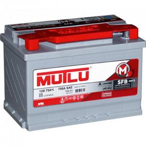 аккумулятор 75 MUTLU SFB 3 LB3.75.072.A (SMF 57072) о/п низк