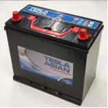 Аккумулятор TESLA ASIAN PREMIUM ENERGY 6СТ-50.1 тонк.кл/бортик