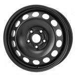 Диск штампованный 5.0x13 4x100 et49 d56.6 Daewoo Opel Chevr черный КрКЗ