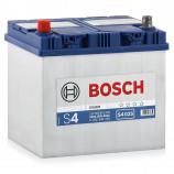 аккумулятор 60 BOSCH S4 560 411 054