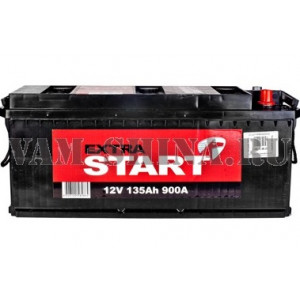 аккумулятор 135 Extra start 12v 135Ah +Le