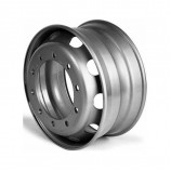 диск колесный 22.5х9.00 МЕФРО 10*335 ЕТ175 d281 (378-3101012-01) серебро усил.