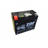 аккумулятор 12V12Ah Мото ZDF VRLA Black 1212 п/п YT12B-4 151х70х131/115 EN