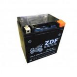 аккумулятор 12V30Ah Мото ZDF VRLA Black 1230 о/п YB30L-BS 168х132х176/320 EN