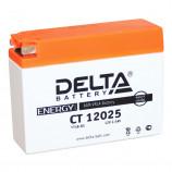 12v2,5 а/ч 30А торц.Delta мото  CT 12025