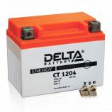 аккумулятор 12V4Ah Мото Delta AGM CT 1204 о/п YB4L-B