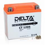 12v5 а/ч (R+) 65А Delta мото  CT 1205