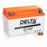 Аккумулятор 12V7Ah Мото Delta AGM CT 1207 п/п YTX7A-BS 152х87х95/105 EN