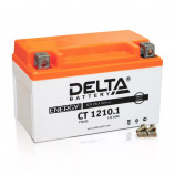 Аккумулятор 12V10Ah Мото Delta CT 1210.1 п/п